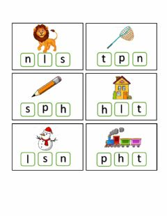 Interactive worksheet Identifying initial sounds