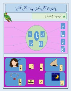 Interactive worksheet urdu worksheet for YR