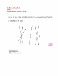 Ficha interactiva Basic Concept of Geometry:link