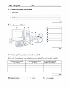 Interactive worksheet Info 5