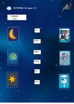 Interactive worksheet Clunk in Space