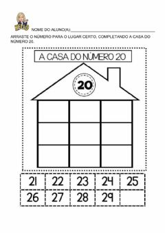 Interactive worksheet Sequencia numerica