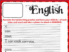 Interactive worksheet English-Monday-week - 24