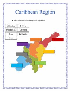 Interactive worksheet Caribbean Region