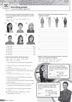 Interactive worksheet Describing people