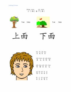 Interactive worksheet 上面和下面