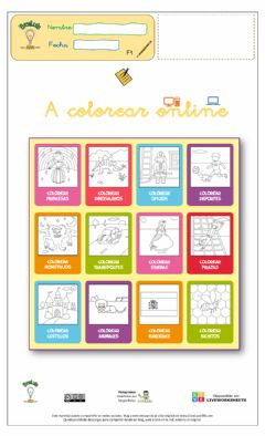 Interactive worksheet A Colorear online 02