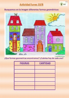 Interactive worksheet Buscar formas