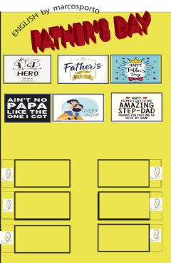 Interactive worksheet Father's Day