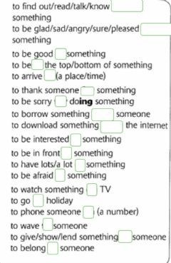 Interactive worksheet Prepositions for Key for Schools Set 1