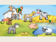 Interactive worksheet Los animales de la granja