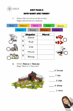 Interactive worksheet How many are there?