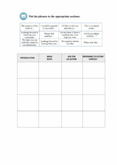 Interactive worksheet Business email-phrases