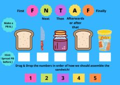 Interactive worksheet Sequence Adverbs (FNTAF)