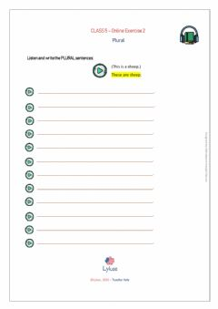 Interactive worksheet CLASS5-Exercise2
