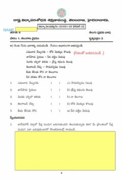 Interactive worksheet 4th telugu Ws emulada