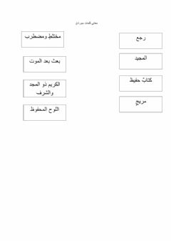 Interactive worksheet واجب
