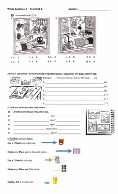 Interactive worksheet Unit 3 Collections
