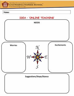 Interactive worksheet Compass Points