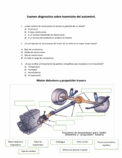 Interactive worksheet Diagnostico Transmisiòn de automovil