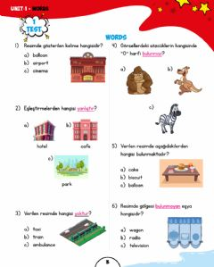 Ficha interactiva 2nd grades unit 1