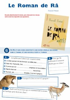 Interactive worksheet Le Roman de Râ - épisode 6