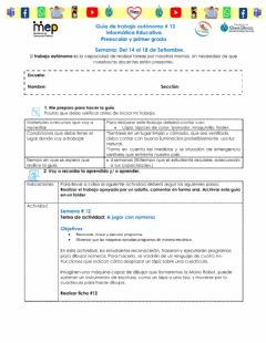 Interactive worksheet Ficha12