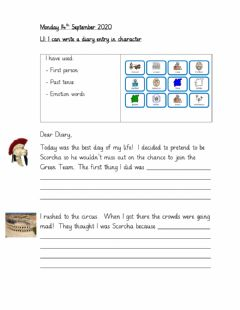 Interactive worksheet Monday 14th September