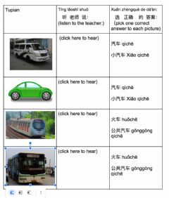Interactive worksheet Transportation in mandarin 01