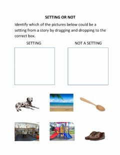 Interactive worksheet Setting or Not