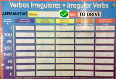Interactive worksheet Verb to drive affirmative