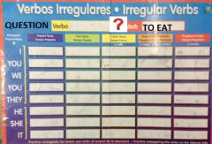Ficha interactiva Verb to eat question