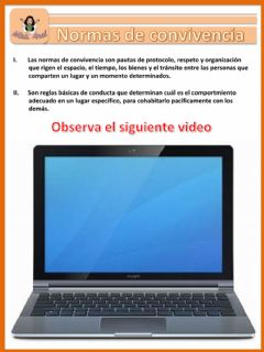 Interactive worksheet Video de Normas de convivencia