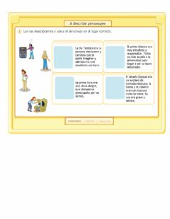 Interactive worksheet Descripción