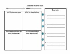 Interactive worksheet Character Inference WOrksheet
