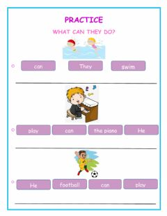Interactive worksheet Practice