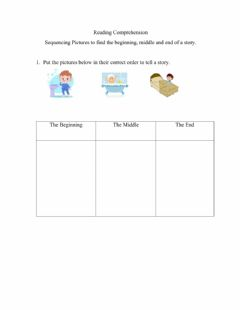 Interactive worksheet Sequencing Pictures