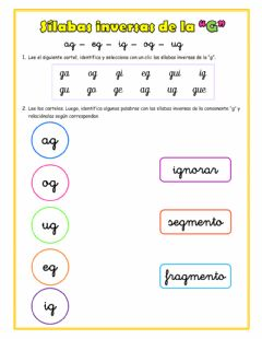 Interactive worksheet Inversas de la G