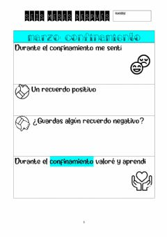 Interactive worksheet vuelta al cole 6 meses después