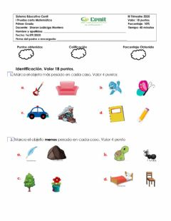 Interactive worksheet Prueba