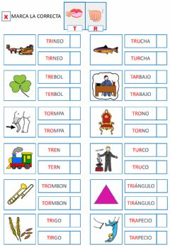 Interactive worksheet Trabadas 1