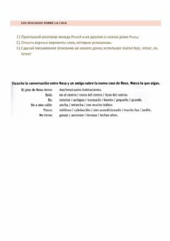 Interactive worksheet Spanish dialogos