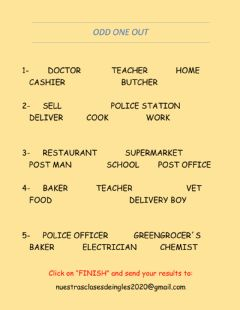 Interactive worksheet Exp 3 professions