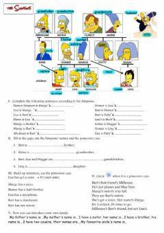 Interactive worksheet Family tree