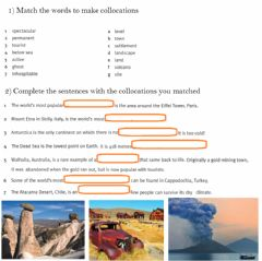 Interactive worksheet Descriptive language