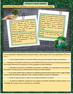 Interactive worksheet Desarrollo sostenible