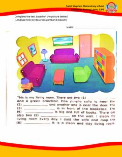Interactive worksheet Tugas Online for Fourth Grade