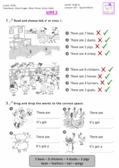 Interactive worksheet Learn with us 2 - Unit 4