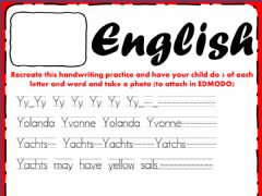 Interactive worksheet English