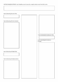 Interactive worksheet Article Template
